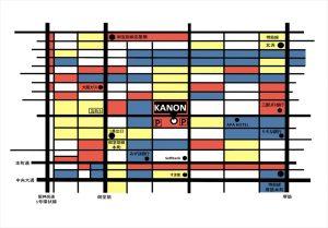 ヴァンス東京・ウェディング サロン・マップ