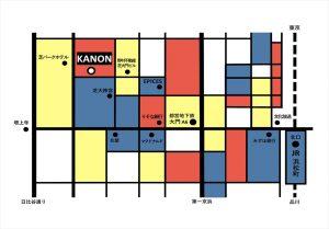 ヴァンス東京・ウェディング オフィス・マップ