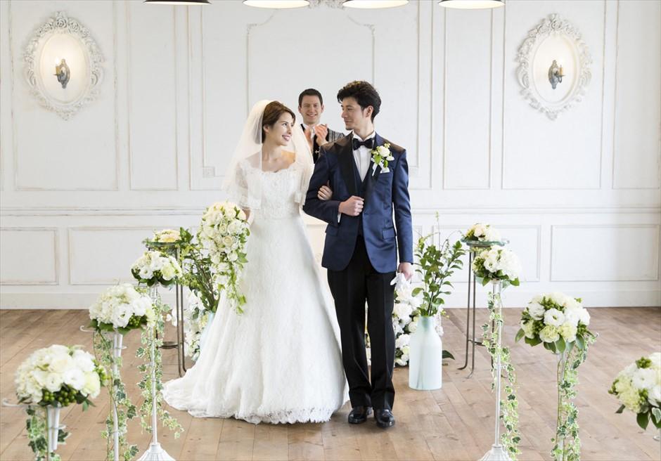 ヴァンス東京リゾート・ウェディング 退場シーン