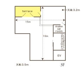 ヴァンス東京・ウェディング リバーサイド 地図