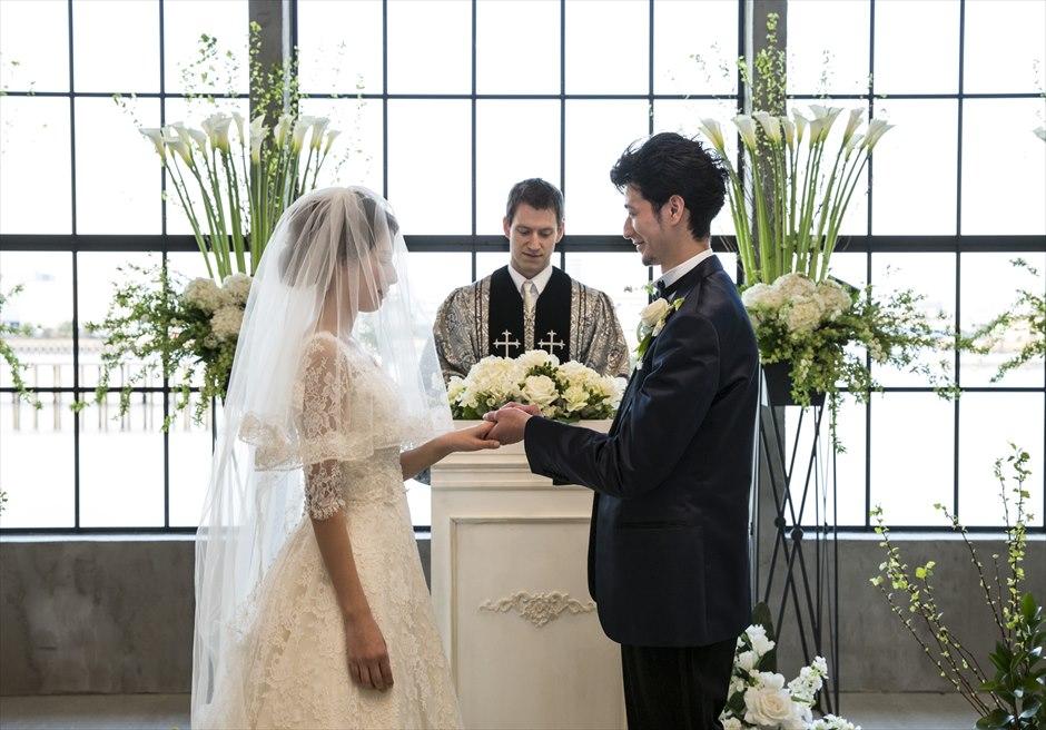ヴァンス東京リゾート・ウェディング 指輪の交換