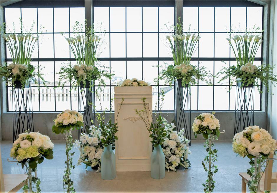 ヴァンス東京・ウェディング 祭壇装飾 ラグジュアリー・ウェディング