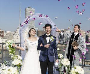 ヴァンス東京・結婚式 リバーサイド・ルーフトップ