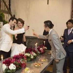 ヴァンス東京リゾート・ウェディング・パーティー 乾杯